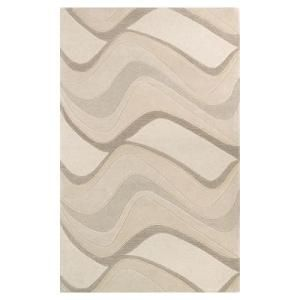 Kas Rugs Soothing Waves Ivory 8 ft. x 10 ft. 6 in. Area Rug  on  Daily Rug Deals