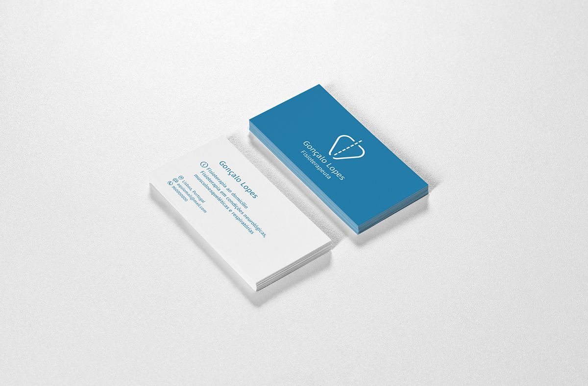 Business Card: Physiotherapist on Behance | Physiotherapist cards ...