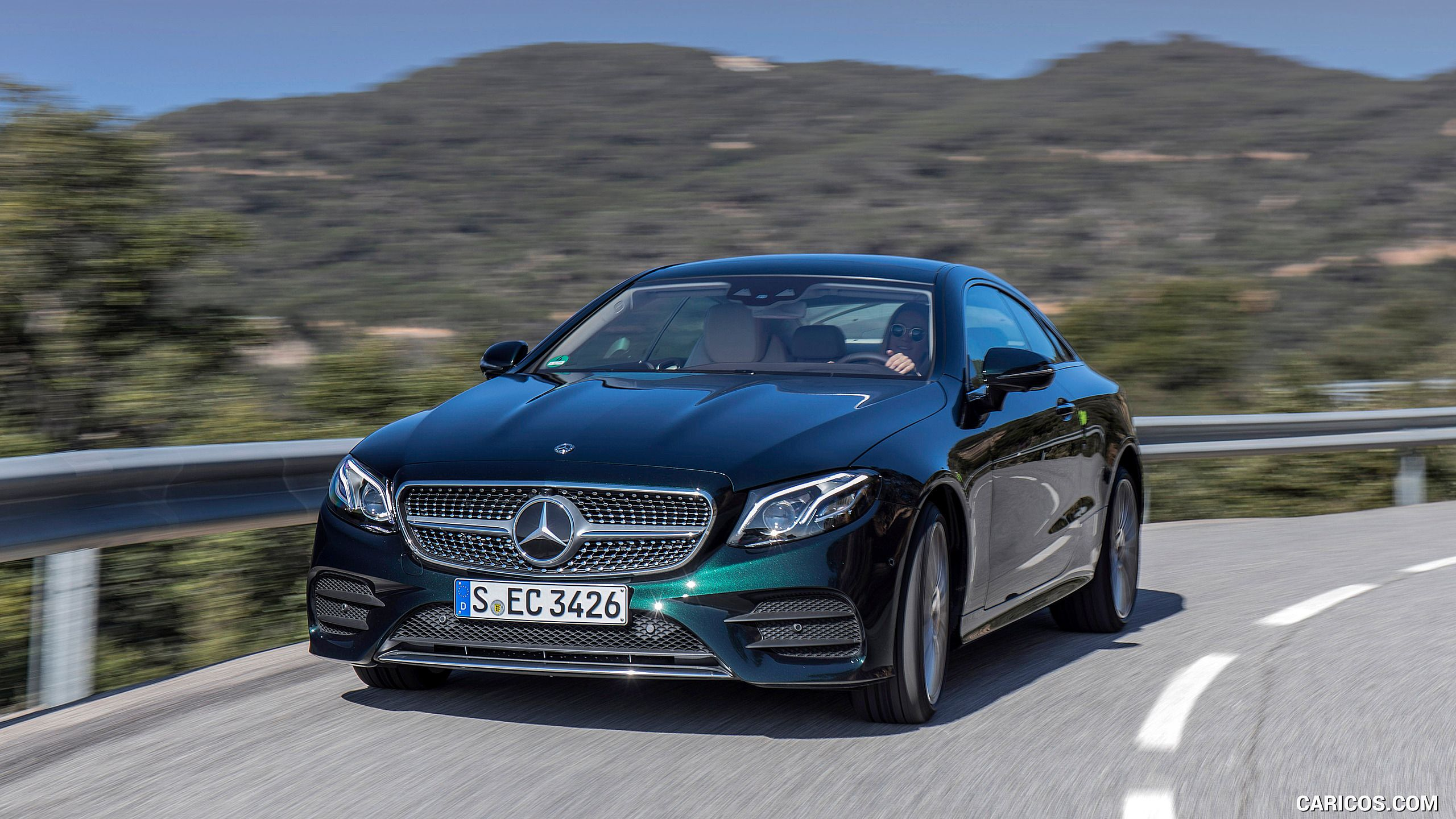 2018 mercedes benz e class coupe wallpaper