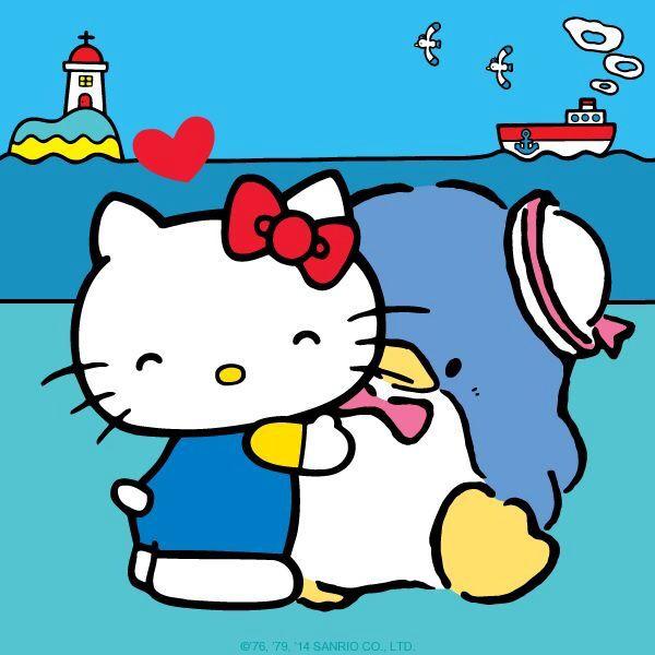 Hello Kitty & Tuxedo Sam