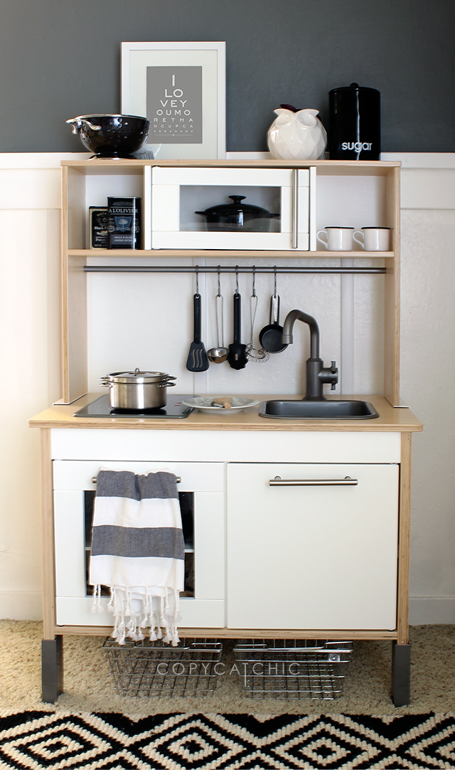 Copy Cat Chic | Play Kitchen Update with @lowes #LowesCreator | The ...