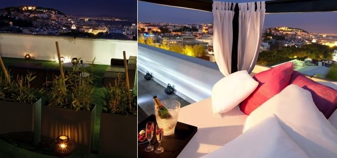 Sky Bar Lisboa Rooftop Bars And Terraces In Lisbon Pinterest