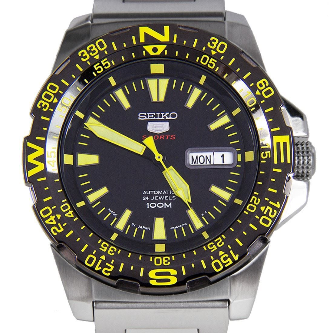 Seiko 5 Srp545j1 Automatic Mens Sports Watch Srp545j Relogios