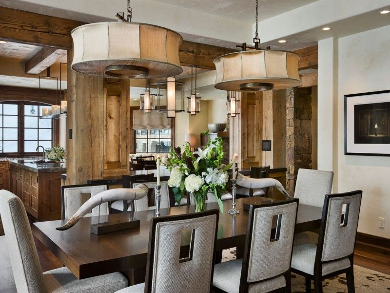 Slopeside Chalets by Locati Architects Luxury interior design