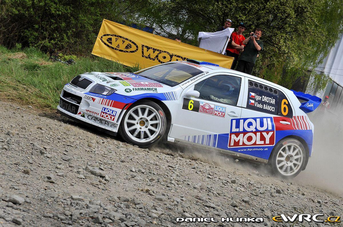 Igor Drotár; Vladimír Bánoci; Škoda Fabia WRC; Rallye Prešov 2010