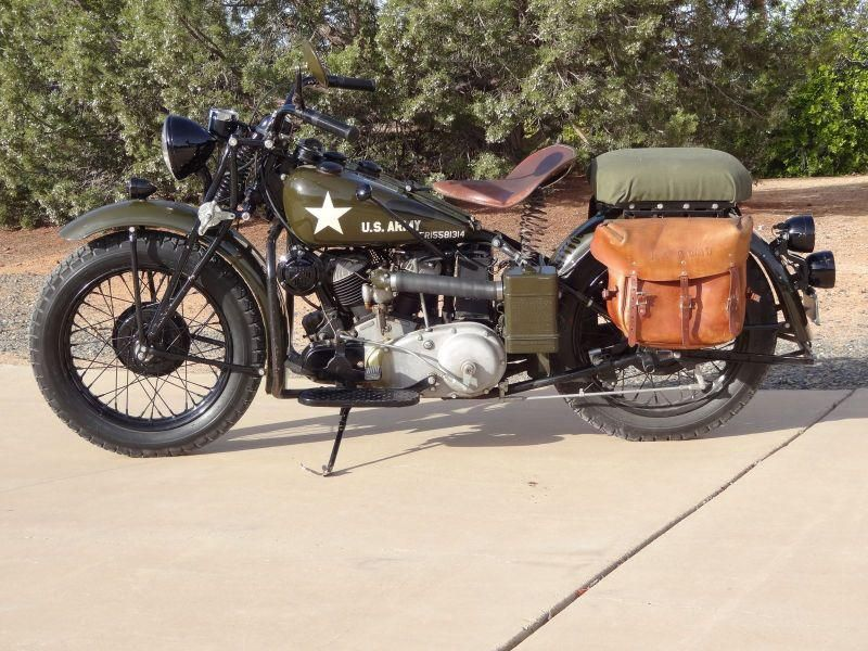 Epitome of American Dream and one of Hollywood's great legends Steve McQueen's 1941 Indian 741 military scout up for grabs at MidAmerica Auctions 22nd Annual Antique Motorcycle Auction at Las Vegas.