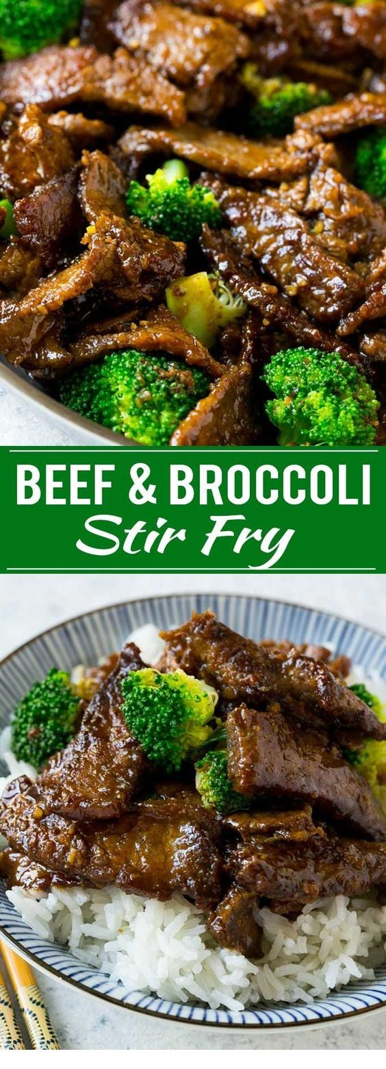 Photo of Beef And Broccoli Stir Fry By dinneratthezoo.com This recipe for beef and brocco…
