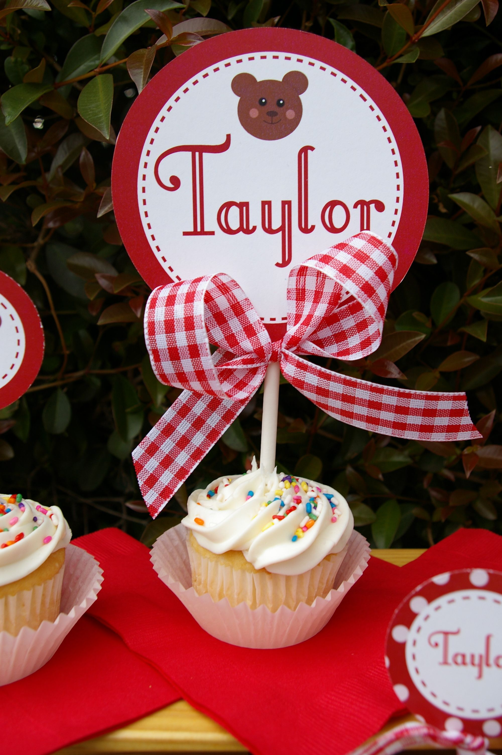 Teddy Bear Picnic decorations by Emmy\'s Events available in my Etsy ...