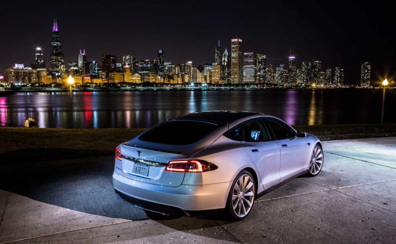 Amazing Backgrounds of Tesla Model S Colelction ID PLAPLA