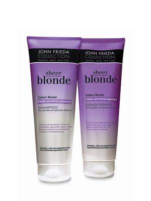 John Frieda Sheer Blonde Purple Shampoo And Conditioner If You
