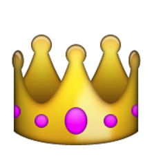 """Résultat de recherche d'images pour """"couronne emojis"""""""