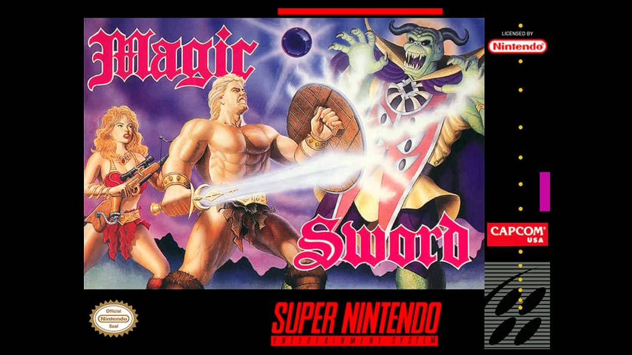 Magic Sword Super Nintendo Snes Complete Soundtrack Ost With