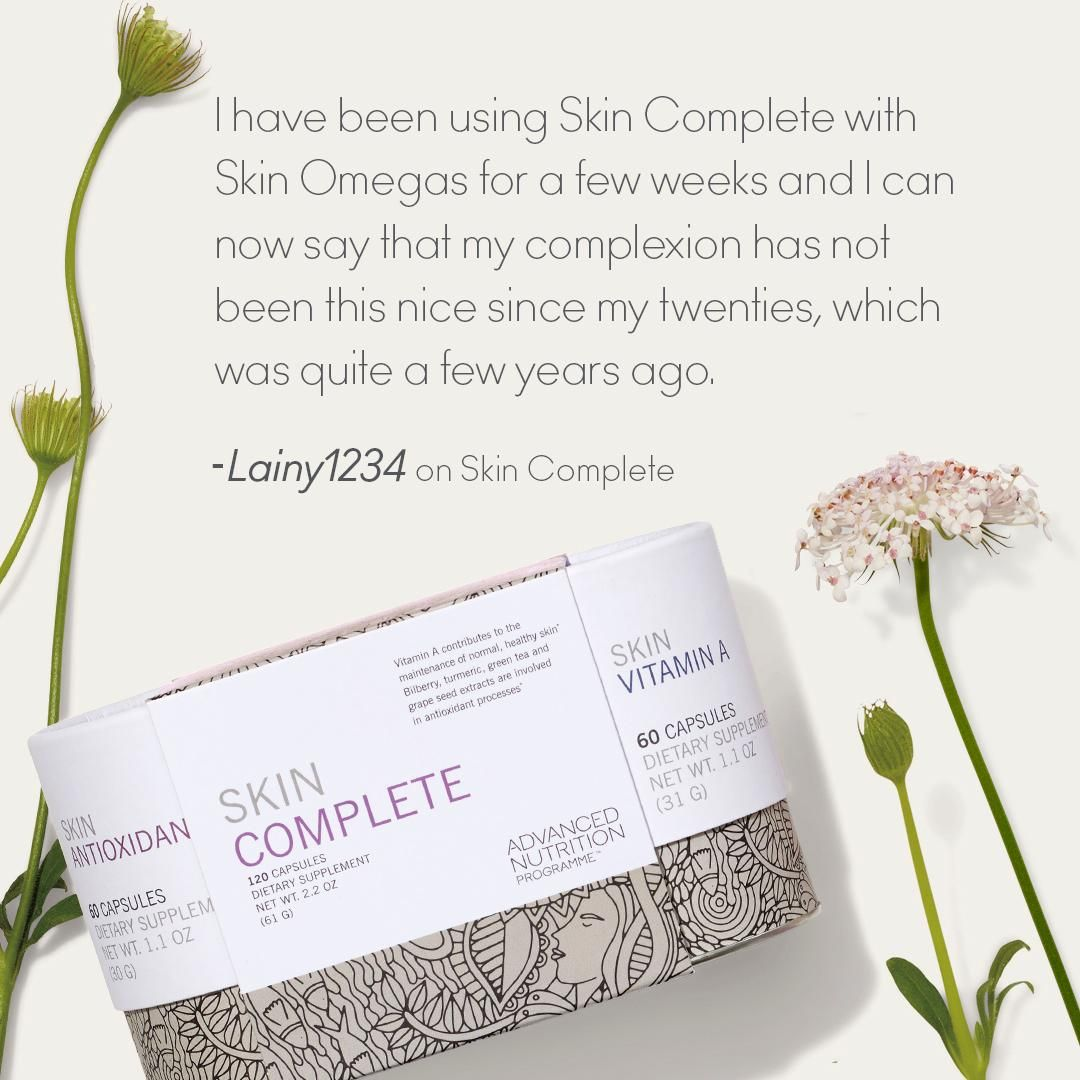 Healthy skin starts from within nourish skin at its