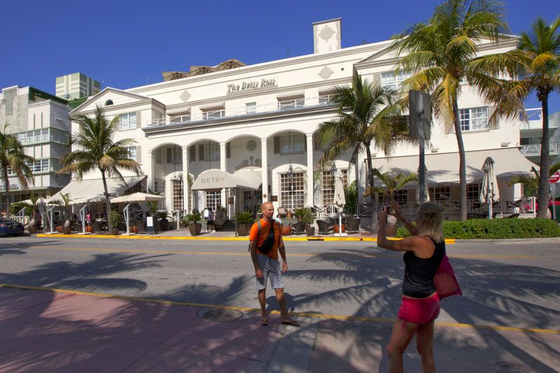 Betsy Ross Hotel On Ocean Drive South Beach Miami Florida