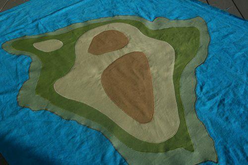 Topographic Quilt!