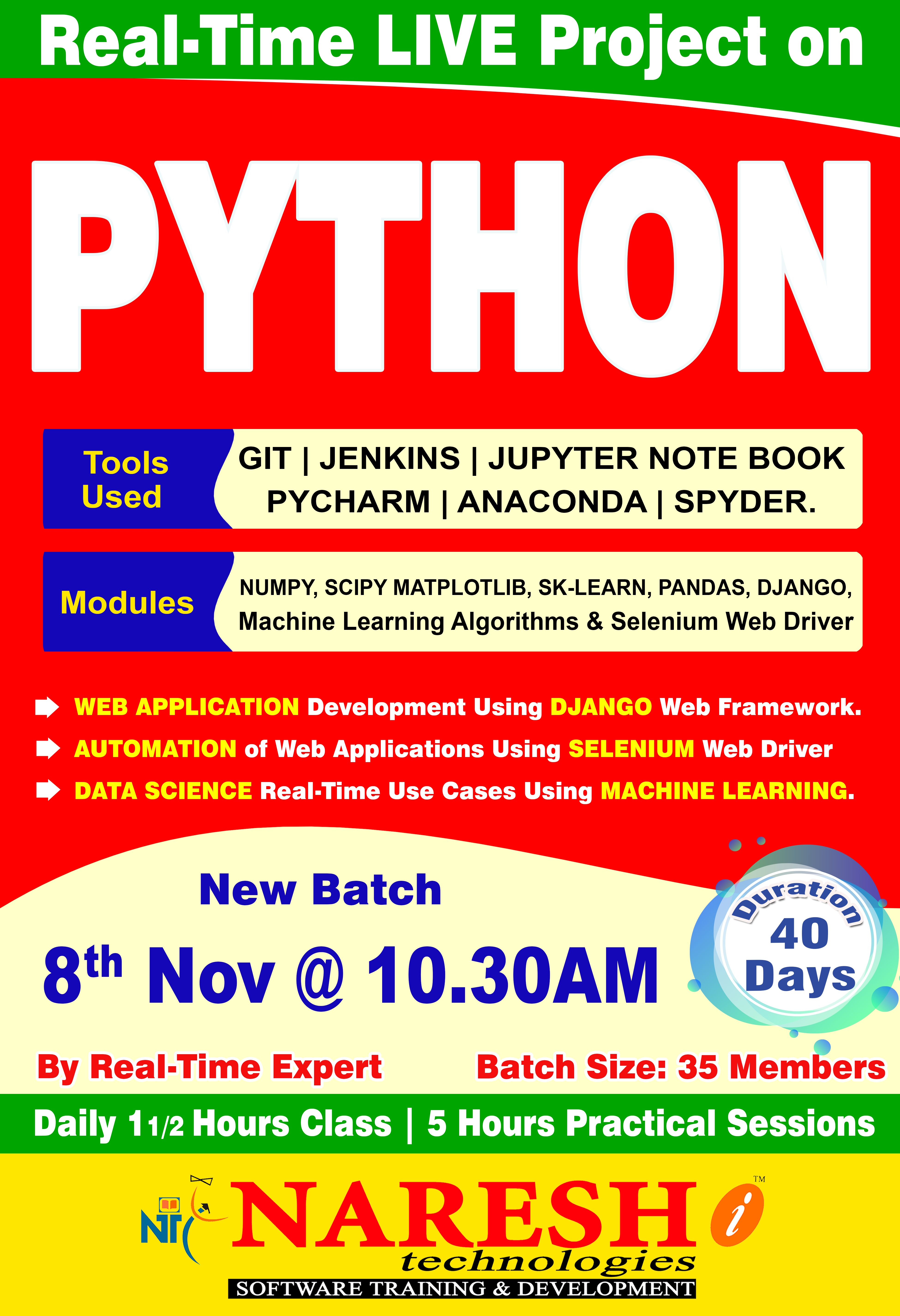Pin by Naresh IT on Python Real Time Project | Projects