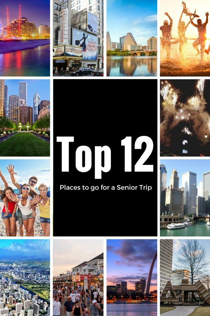 Senior trip destinations