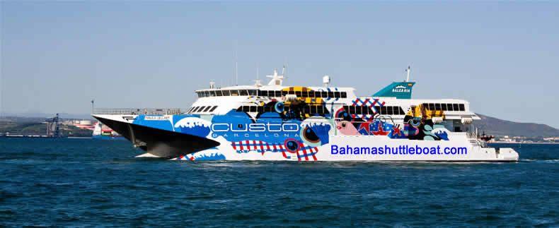 Bahamas day trip ferry check groupon bahamas