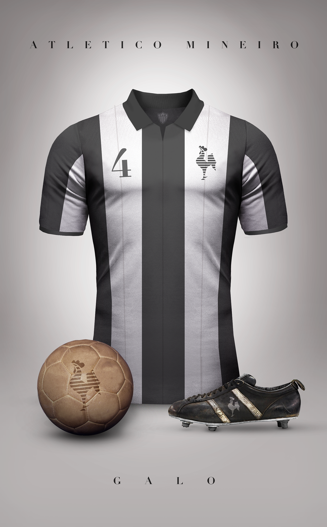 4b0552848 Concept designs of some football clubs in vintage style