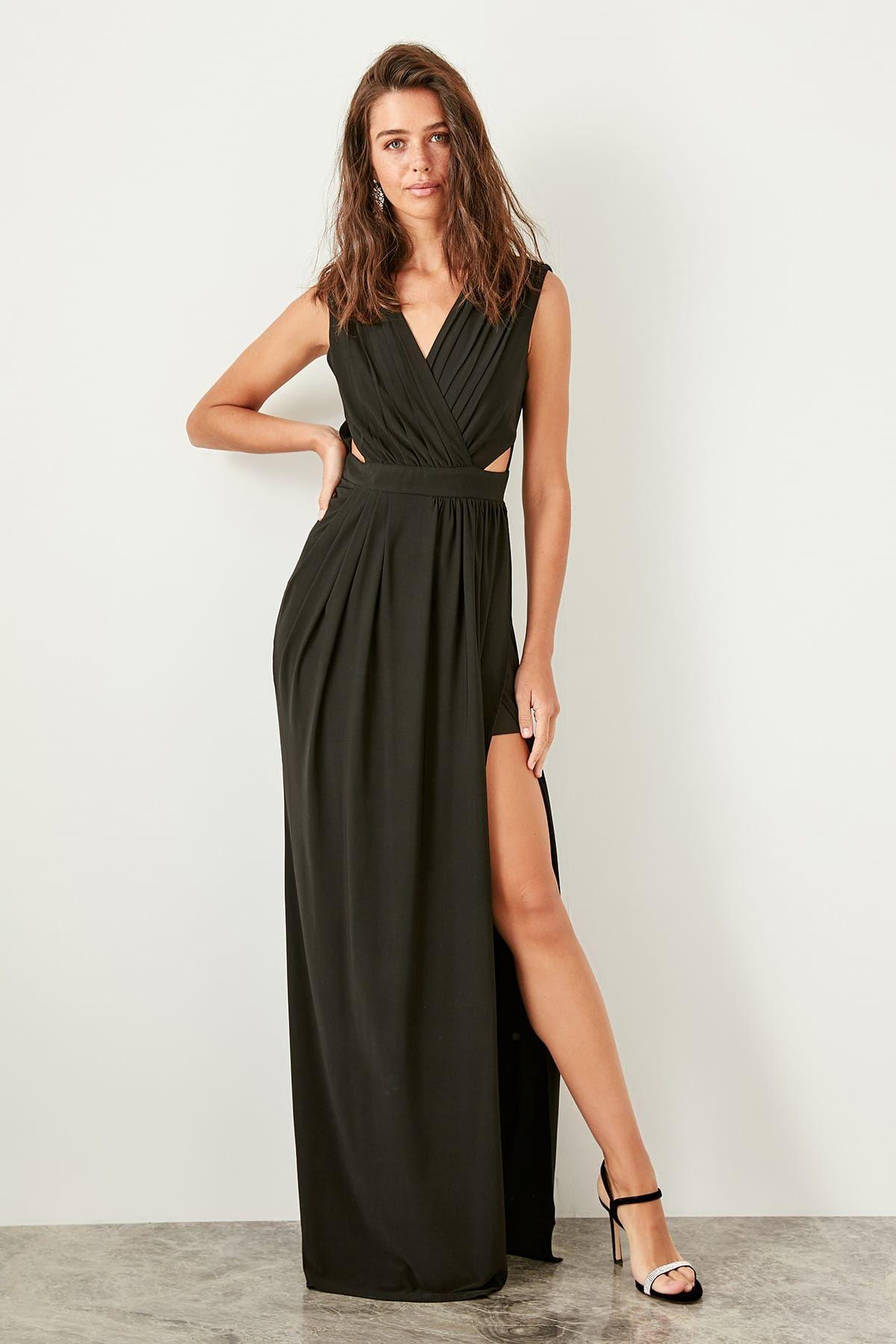 Online Alisveris Sitesi Turkiye Nin Trend Yolu Trendyol The Dress Aksamustu Giysileri Maksi Elbiseler