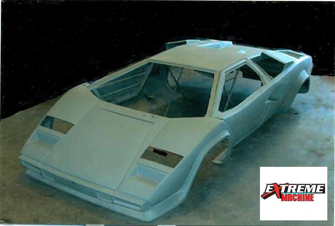 Countach fiberglass body kit | creafglass | Pinterest | Cars