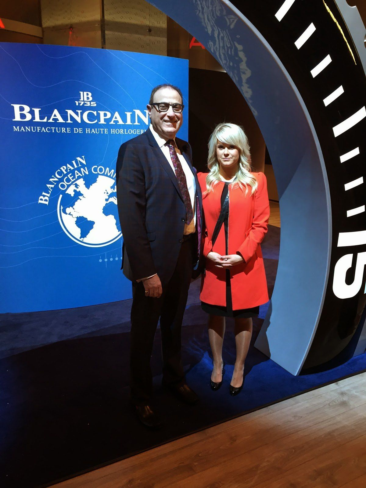 Bernard and Christina blancpain Basel