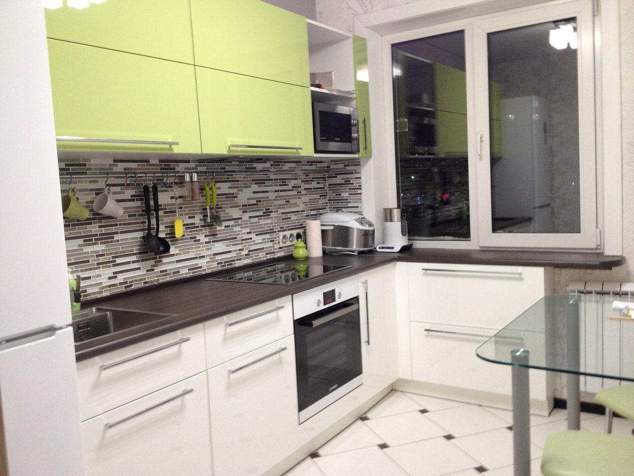 кухни 6м интерьер и дизайн фото в квартире угловые 3