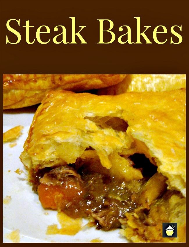 I LOVE making Steak Bakes! It's a really simple meal or ...