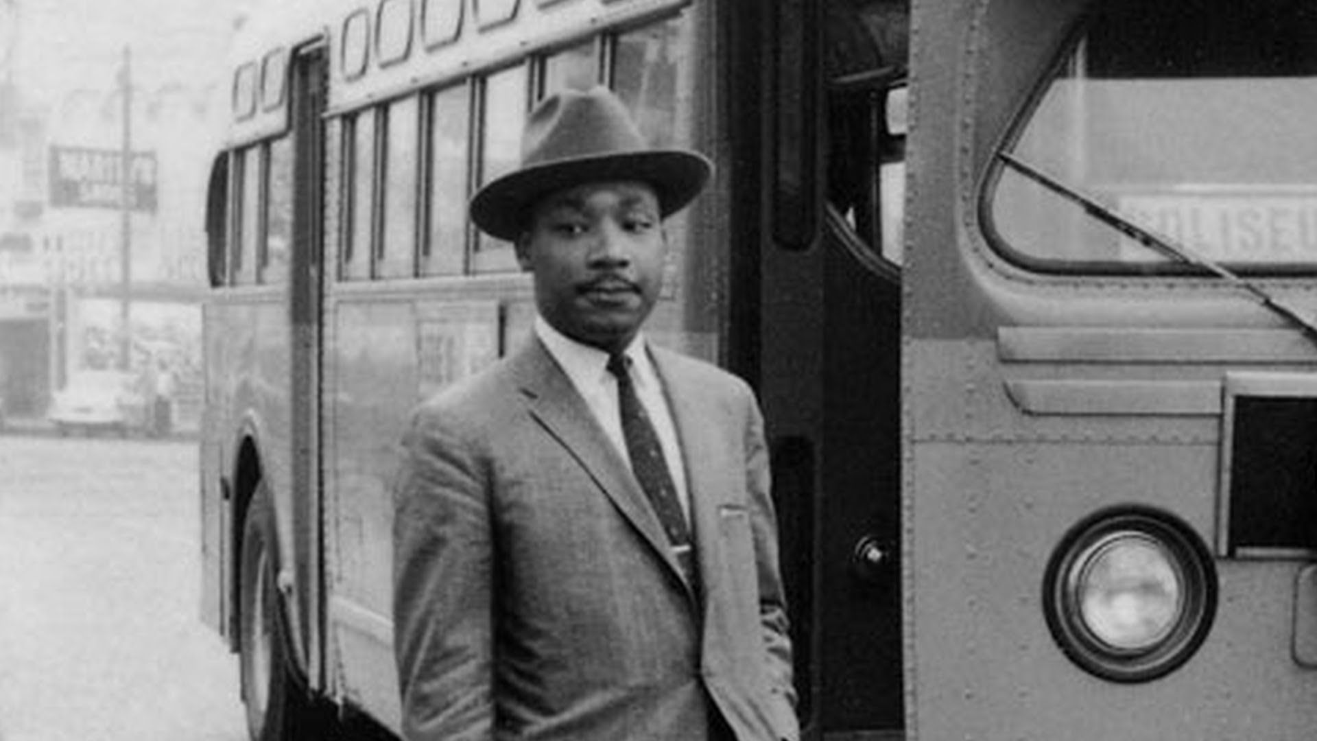 Always Fight With Love In Rare Footage A Young Mlk Jr Launches