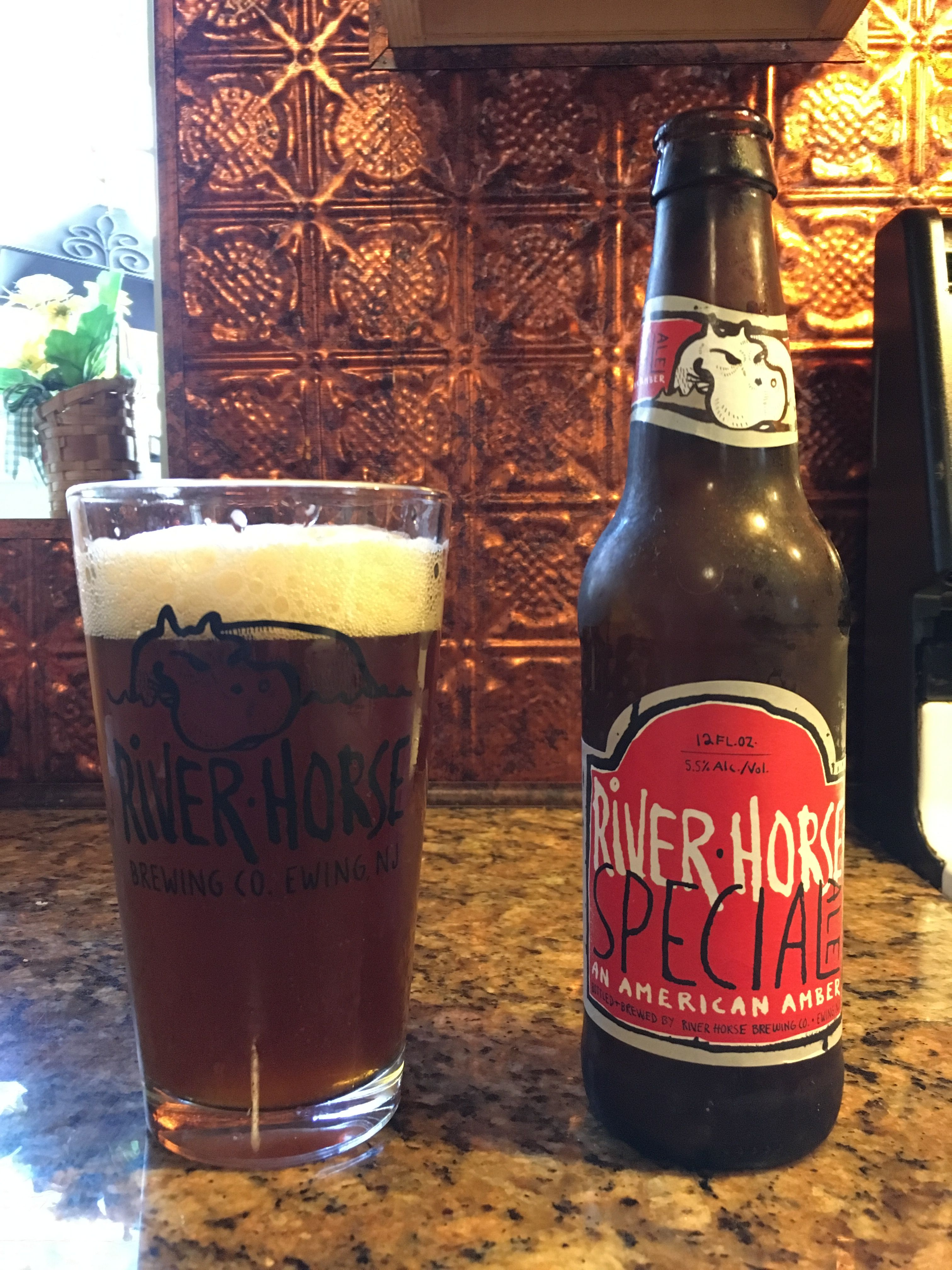 Special Ale By River Horse Brewery Ewing Nj Beer Dark Beer Brewery