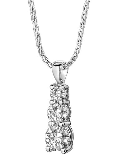 Dhpx4577 a stunning designer round brilliant cut diamond trilogy dhpx4577 a stunning designer round brilliant cut diamond trilogy pendant set in a prong setting audiocablefo light Images