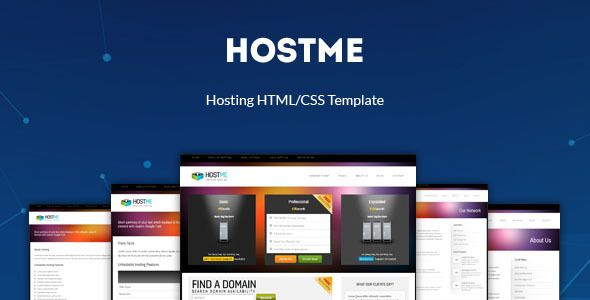 hostme premium hosting business template template business