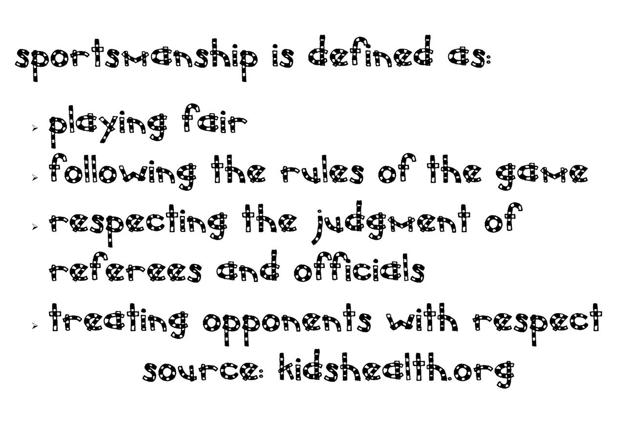 The Corner On Character Sportsmanship Resources