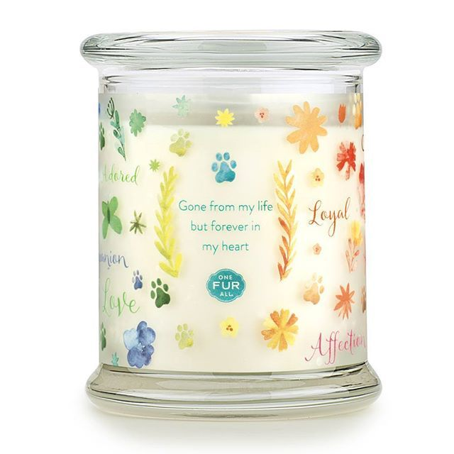 Forever Loved Pet Memorial Candles Are A Way To Remember Pets That Have Crossed Over The Rainbow Bridge Pet Memorials Memorial Candle Granite Pet Memorials