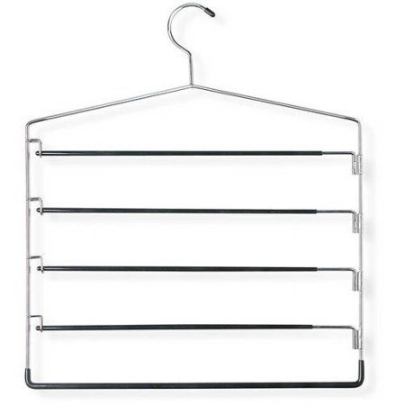 Orange Install on Right Side LUANT Closet Pants Hanger Bar Clothes Organizers for Space Saving and Storage,18 x 12-1//2