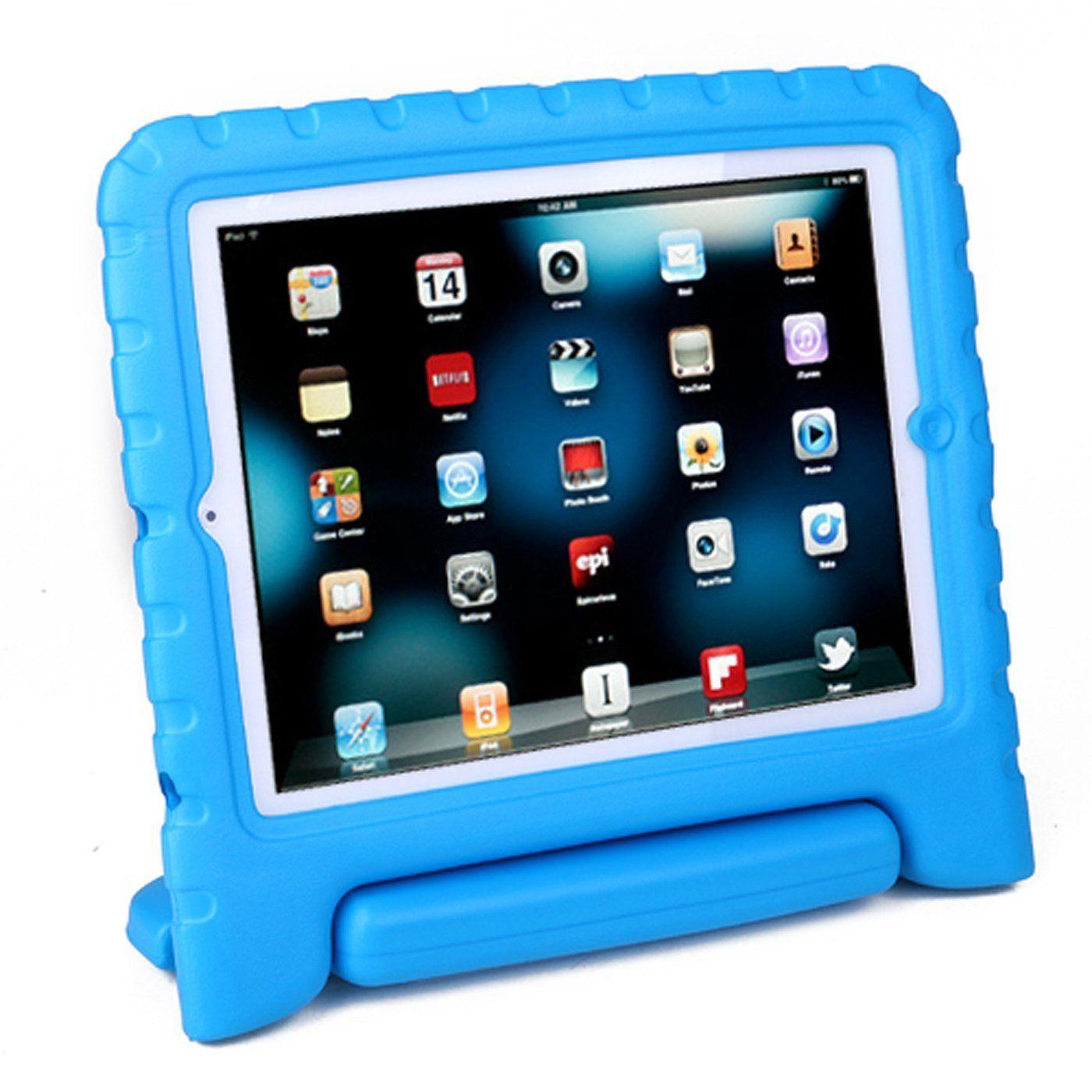 Hde shock proof ipad case for kids bumper