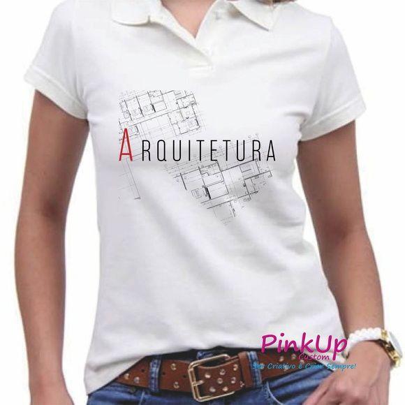 b96fe6bb67 Camisa Polo - Arquitetura Presentes Personalizados