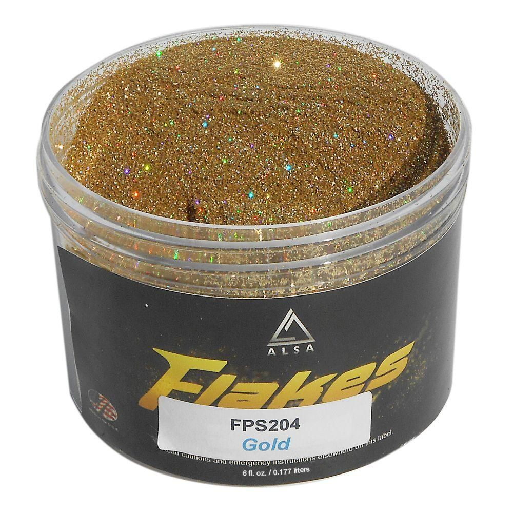 Alsa Refinish 6 oz. Gold-2 Flakes Paint Additive