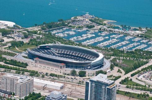 Soldier Field, Chicago Bears football stadium - Stadiums of Pro