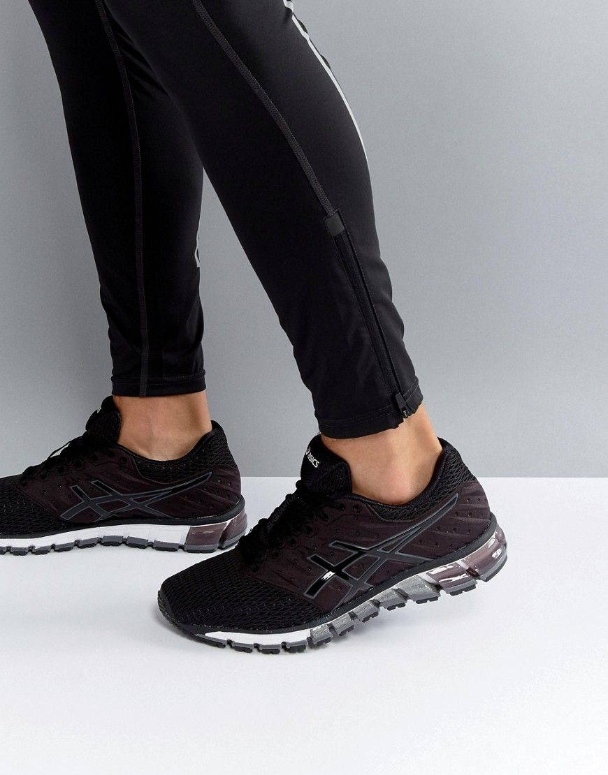 505e3e807cb Asics Gel-Quantum 180 2 Active Sneakers In Black T6G2N-9090 - Black ...