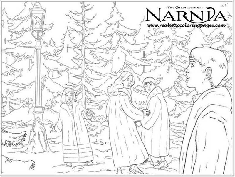 The Chronicles Of Narnia Printable Coloring Pages Forest Coloring Pages Coloring Pages Narnia
