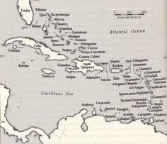 Taino Names Of The Caribbean Islands