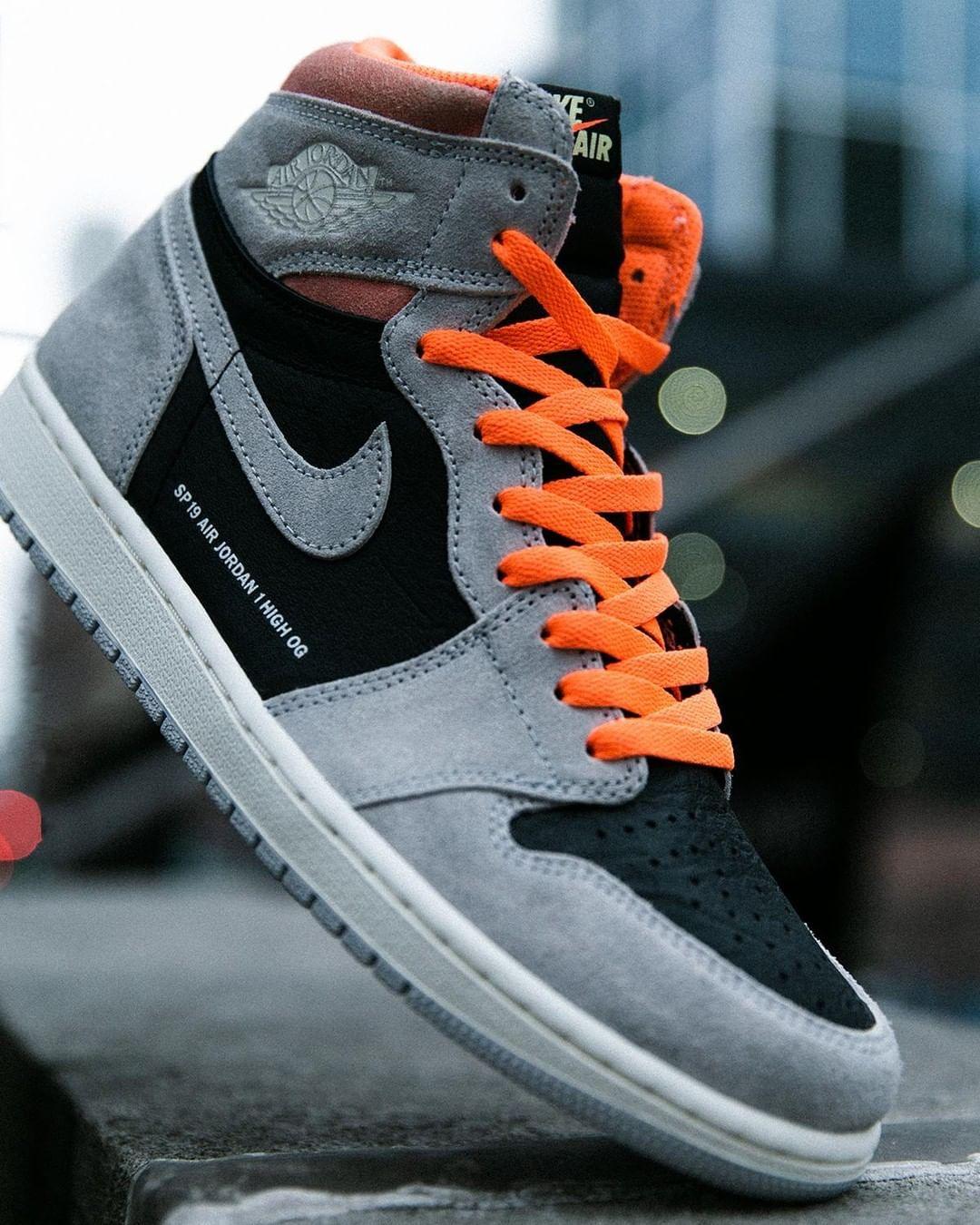 So fresh. #Jordan Retro 1 SS19 'Neutral Gray' Available Now