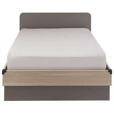 lit 120x190 cm jimi pas cher c 39 est sur large choix prix discount et des. Black Bedroom Furniture Sets. Home Design Ideas