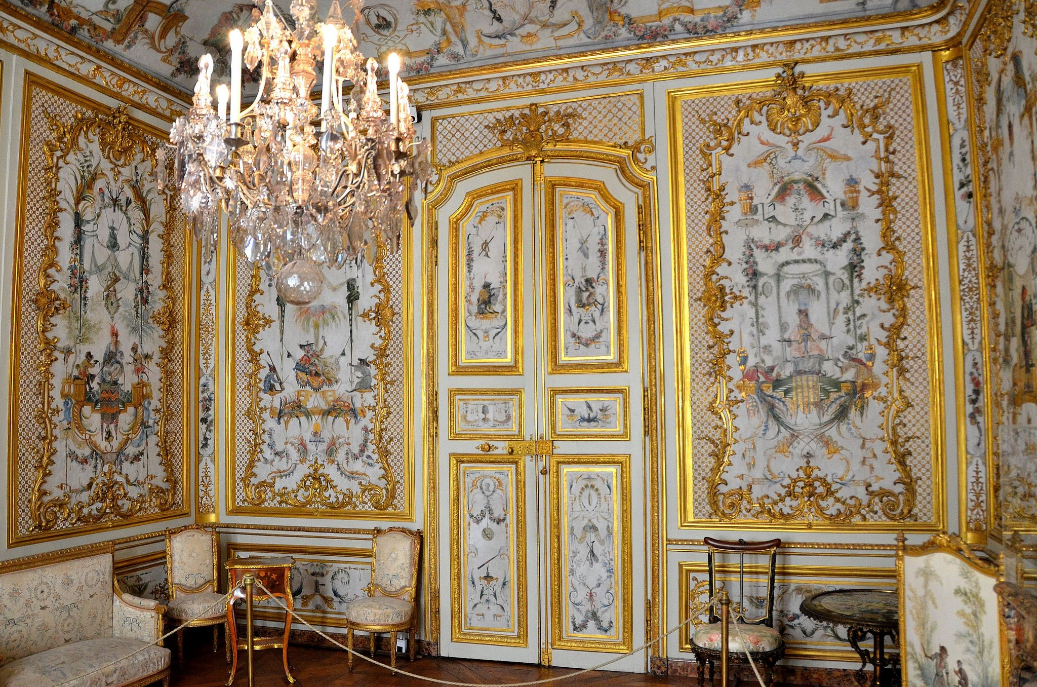 Chateau De Chantilly Oise Musee Conde Grands Appartements