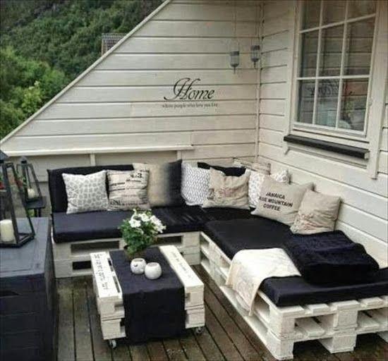 Decoracion Y Muebles Para Terraza Con Palets Muebles Con