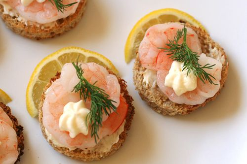 Shrimp Canapes A La Suede Food Recipes Fine Dining Recipes