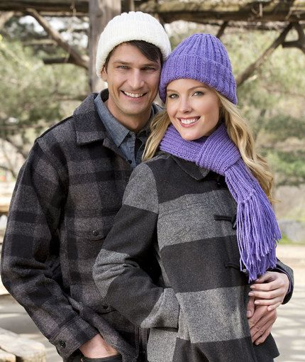 Ribbed Hat and Scarf Easy Knitting Pattern Free   Knit hats