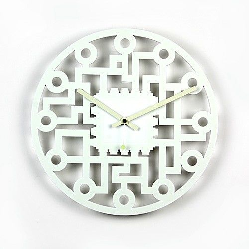 i discovered this simple circuit diagram wall clock ::feelgift on keep   view it now