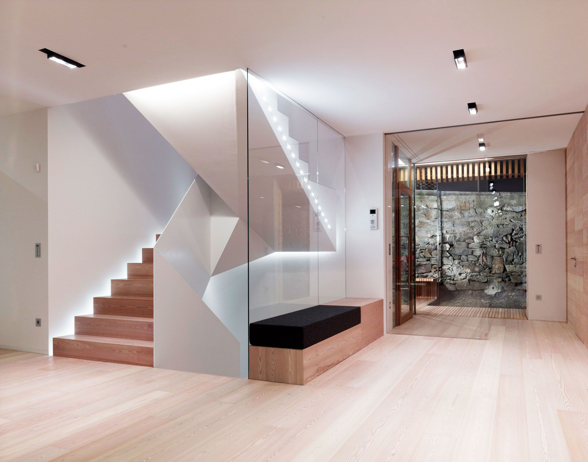 Modern Awesome Stairs Design Interior Natural Of The That